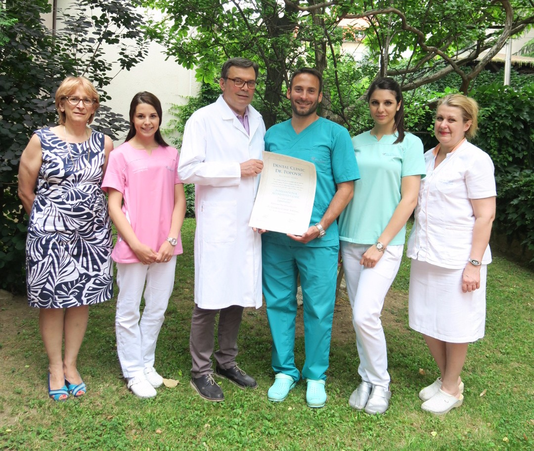 SERBIA: Dental Clinic Dr. Popovic – GCR™ Internationally Accredited