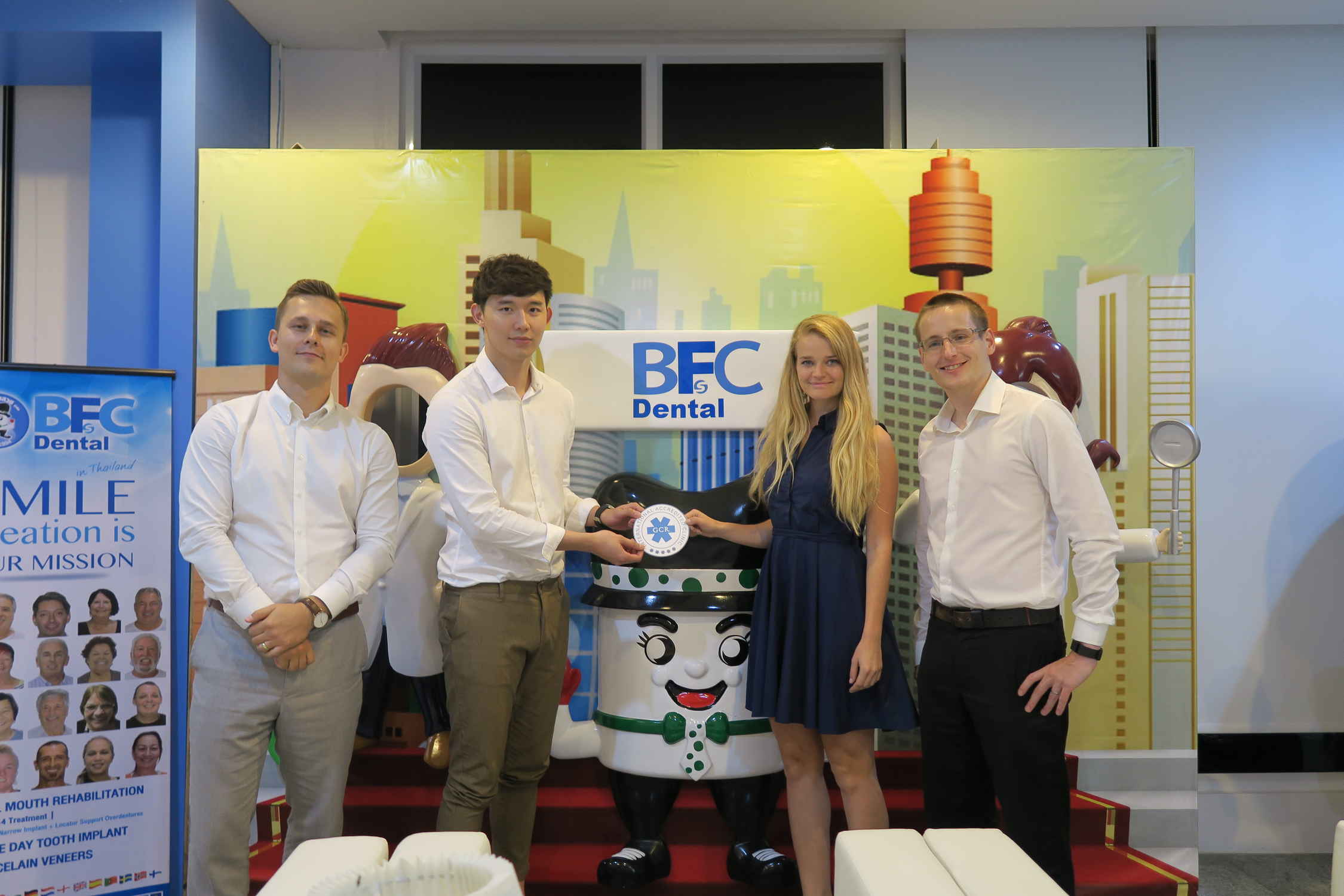 THAILAND: BFC Dental – GCR™ Internationally Accredited