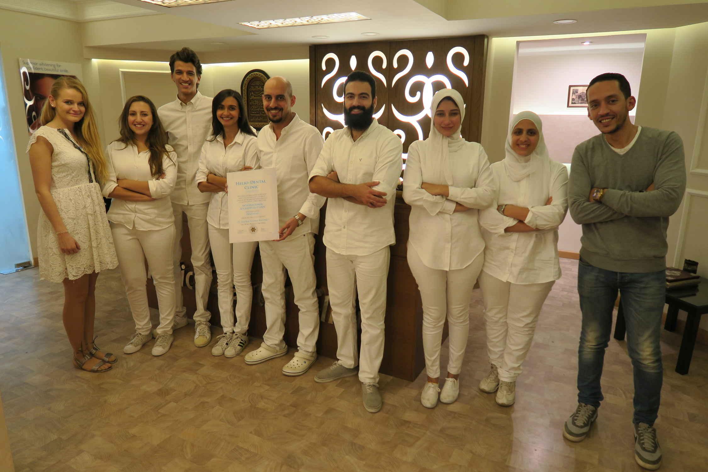 EGYPT: Helio Dental Clinic – GCR™ Internationally Accredited