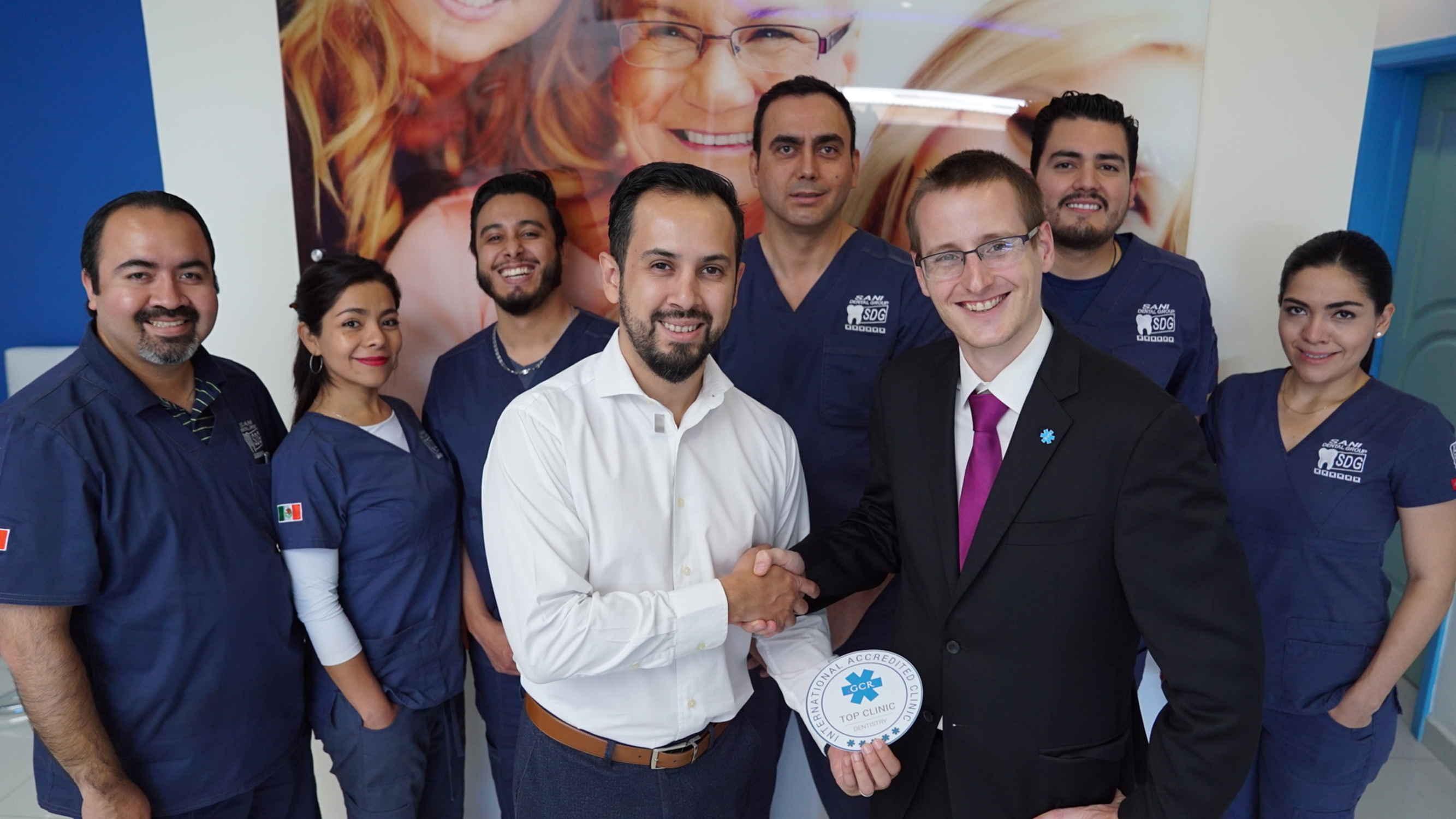 MEXICO: Sani Dental Group – Platinum – GCR Internationally Accredited