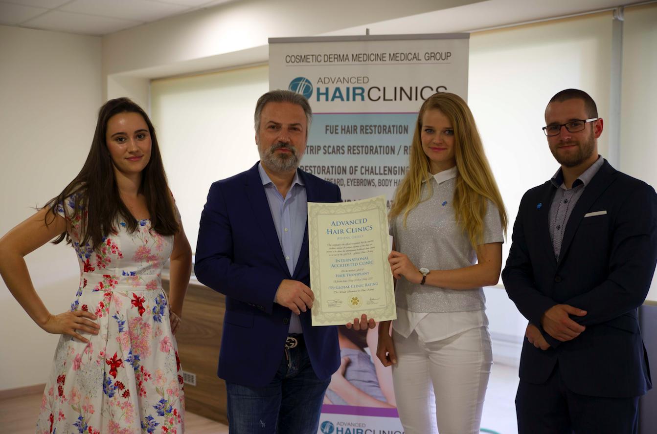 Greece: Advanced Hair Clinics – GCR™ Internationally Accredited